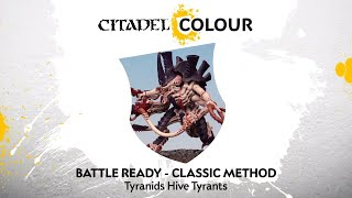 How to Paint: Tyranids Hive Tyrants – Classic Method