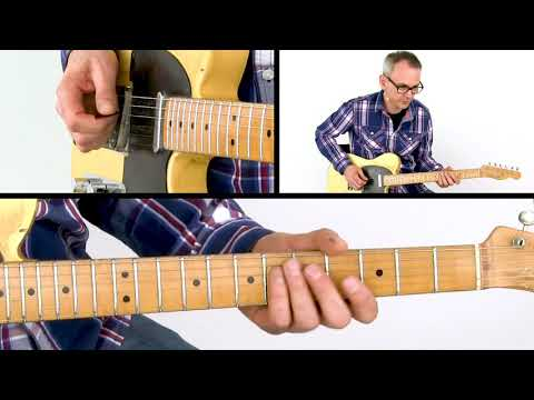 Country Guitar Lesson - Cascading In G Lick - Lars Schurse