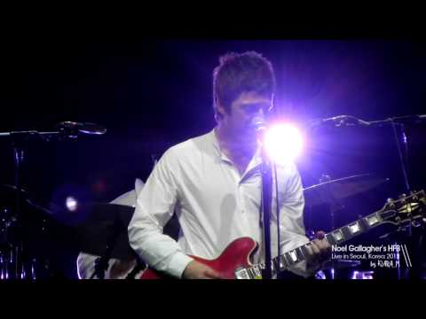 Noel Gallagher's High Flying Birds - A Simple Game of Genius (live in Seoul 2012)