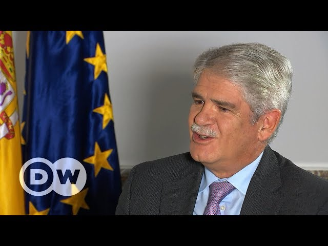 Spanish FM on Catalonia: 'We may have been naive'   DW English