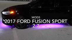 Modified Ford Fusion sport 2.7 400+HP