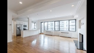 New York City Luxury three bedroom Penthouse Midtown East Apartment Tour $10,000 a month