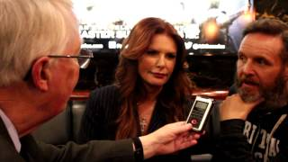 Mark Burnett and Roma Downey on AD The Bible Continues with ANS Founder Dan Wooding