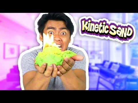 DIY How To Make KINETIC SAND!