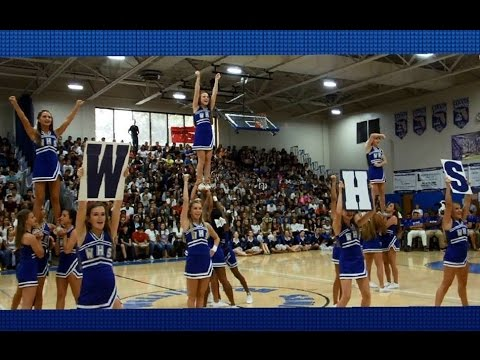 Pep Rally (September 18) Highlights| WHS Wave