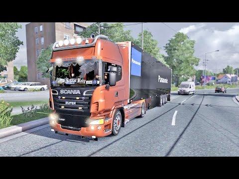 Scania V8 R730 ETS2 (Euro Truck Simulator 2)