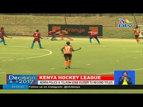 Kenya Police & Telkom edge closer to record titles in hockey league