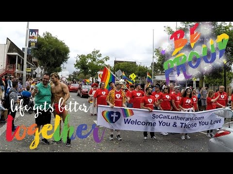 LA GAY PRIDE PARADE 2016 [ With SoCalLutherans ]