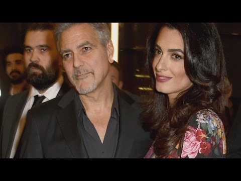 Twins On The Way For Actor George Clooney And Wife Amal: Reports