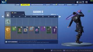 NEU Fortnite Saison 8 Tanz/Dance Reifenmeister - Hoop Master Battle Pass Epic Games