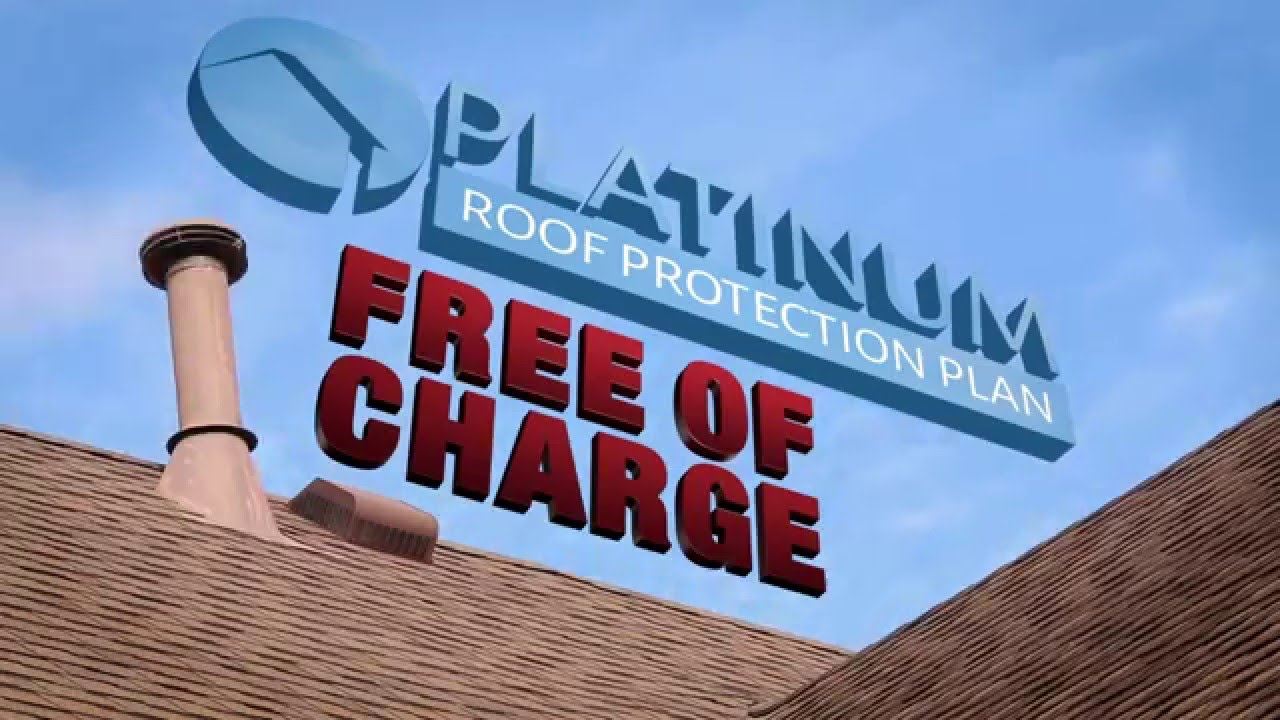 Platinum Roof Protection Plan Promo - YouTube