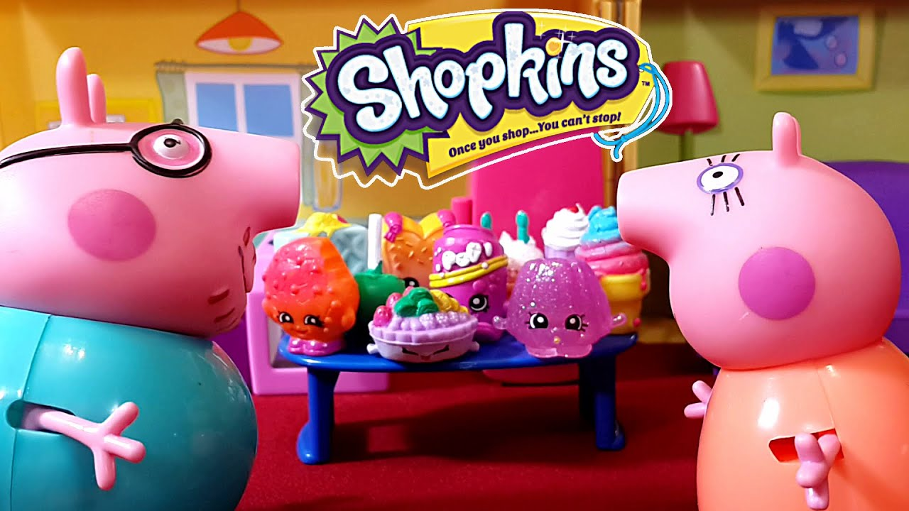 Свинка Пеппа и Праздник Живота! Открываем корзиночки ...