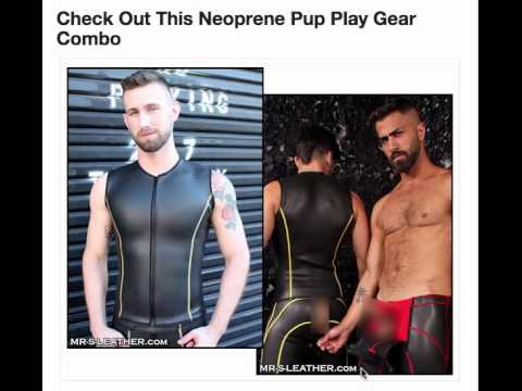 Great neoprene pup play gear combo