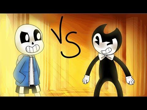 [Animation] Sans VS Bendy - Undertale VS Batim