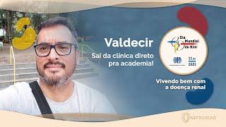 Dia Mundial do Rim 2021   Vivendo bem com a doença renal   Valdecir