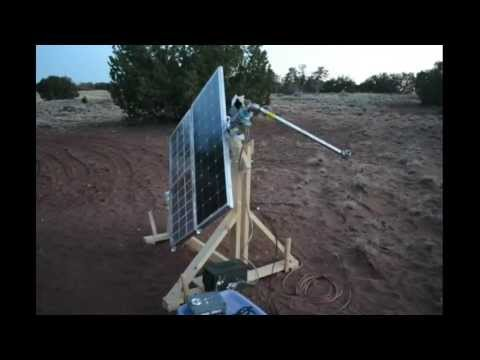 DIY Solar Panels That Track the Sun