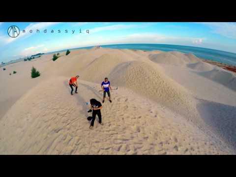 Drone Footage Pantai Klebang, Melaka