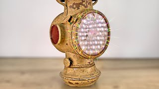 1900 Vintage Oil Lamp Restoration...i did it again...