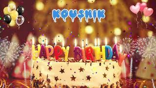 KOUSHIK Birthday Song – Happy Birthday Koushik