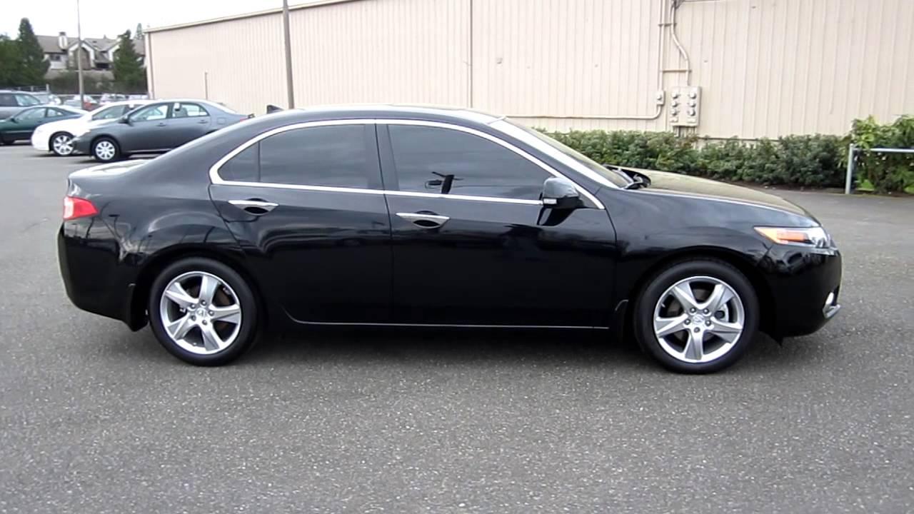 Acura Tsx 2013 Black >> 2012 Acura Tsx Black Stock 28849a Walk Around Youtube