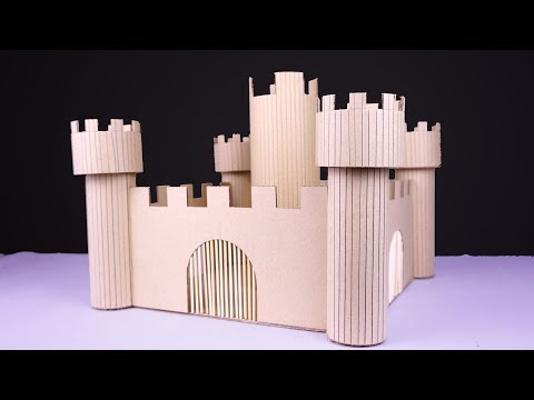 How To Make Amazing Modern Castle From Cardboard | Kep Ghak Life Hacks