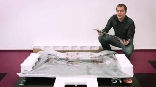 Rozbalení a instalace OLED TV