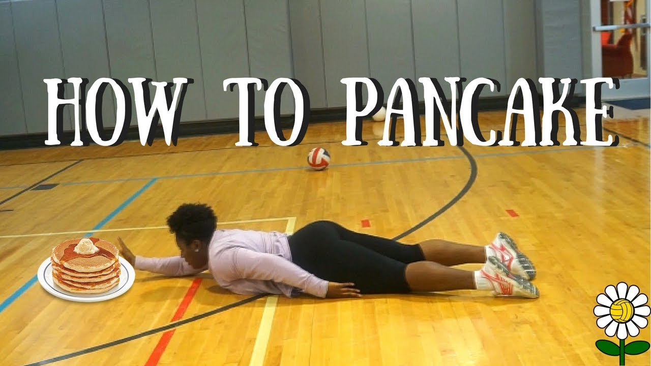 How To Pancake A Volleyball Beginners Youtube