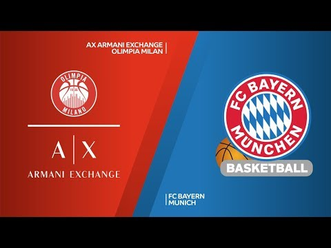 AX Armani Exchange Olimpia Milan - FC Bayern Munich Highlights | EuroLeague RS Round 13