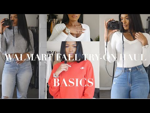 WALMART BOUGIE ON A BUDGET FALL TRY-ON HAUL