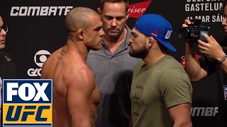 Vitor Belfort vs. Kelvin Gastelum | Weigh-In | UFC FIGHT NIGHT