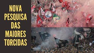 Fla em 1º, Corinthians 2º, São Paulo, Palmeiras, Vasco... O que dizer sobre a pesquisa das torcidas?
