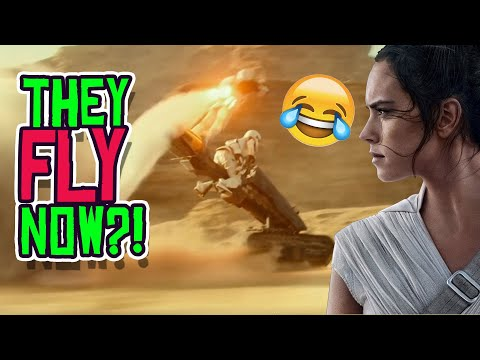 THEY FLY NOW?! The Rise of Skywalker Leaks are Probably TRUE!