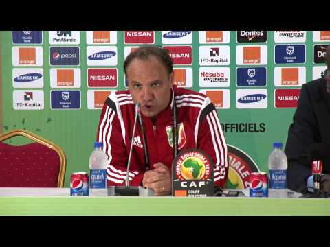 Congo - Conférence de presse (25/01) - Orange Africa Cup of Nations, EQUATORIAL GUINEA 2015