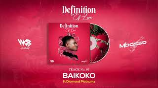 Mbosso  Ft Diamond Platnumz - Baikoko (Official Audio)