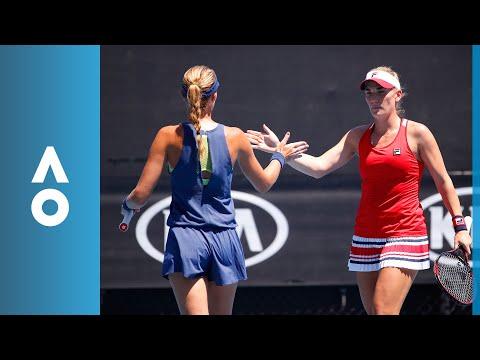 Chan/Sestini Hlavackova v Babos/Mladenovic match highlights (QF) | Australian Open 2018