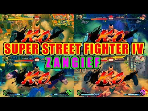 ザンギエフ(Zangief) vs 豪鬼(Akuma) - SUPER STREET FIGHTER IV