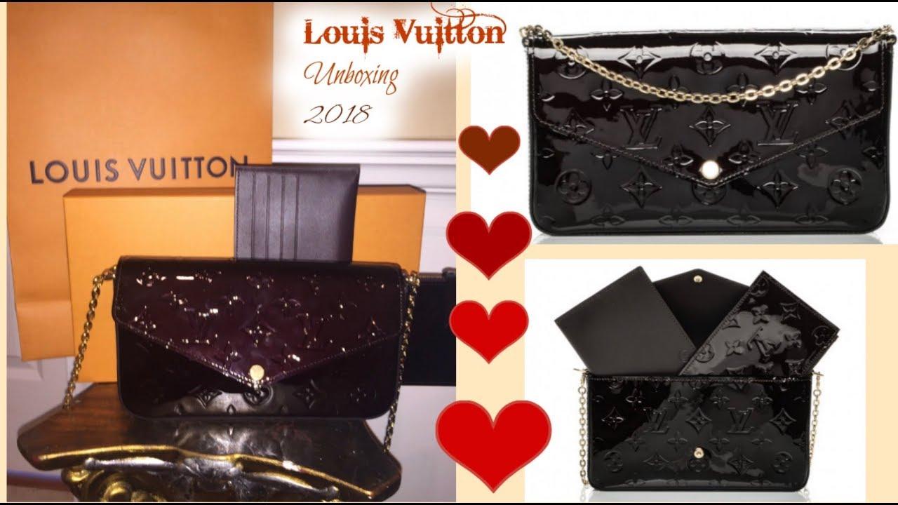 7e0dd5e6239b Unboxing My New Louis Vuitton Pochette Felicie 2018 - YouTube