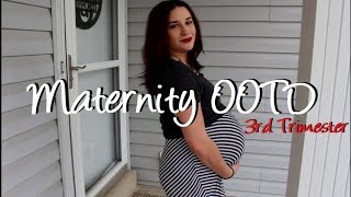 Striped Maxi Skirt : Third Trimester Outfit of the Day : 31 Weeks Pregnant with Baby #2
