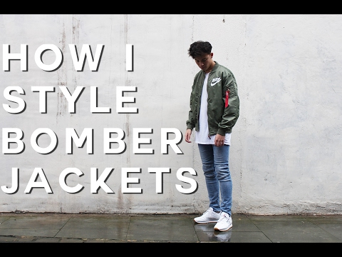 How To Style Bomber Jackets | FW16 (Nike MA1 Bomber)