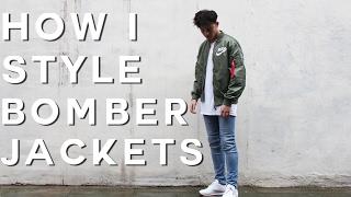 How To Style Bomber Jackets | FW16 (Nike MA1 Bomber)