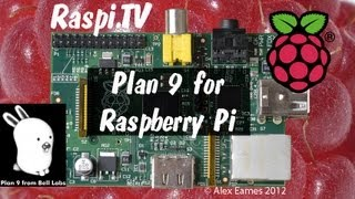 Plan 9 Operating System for the Raspberry Pi - ported by Richard Miller
