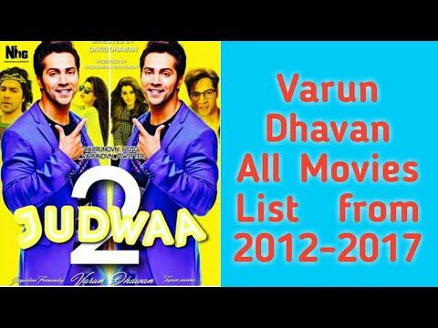 Varun Dhavan All Movies List From 20122017
