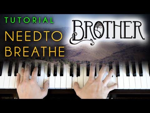 Needtobreathe - Brother (piano tutorial & cover) - YouTube