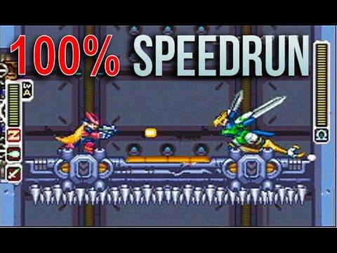 [HD] Megaman Zero 100% ~ All Elves / 100 pts / No Damage