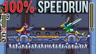 [HD] Megaman Zero 100% ~ All Elves / 100 pts / No Damage