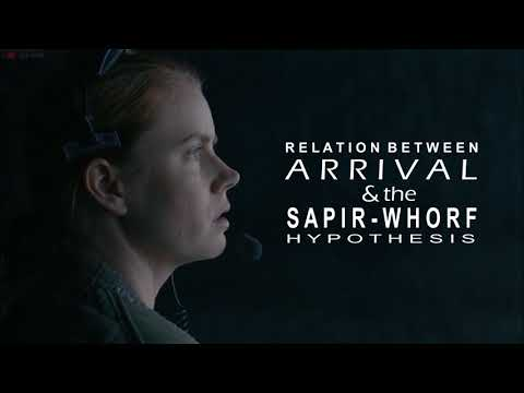Relation between The Sapir-Whorf Hypothesis and Arrival