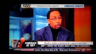 ESPN First Take | Michael Jordan Comeback at 50 - ESPN Sport First Take