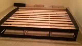Putting Skymall Storage Bed & Headboard Together