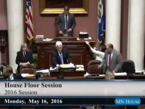 House Floor session  5/16/16