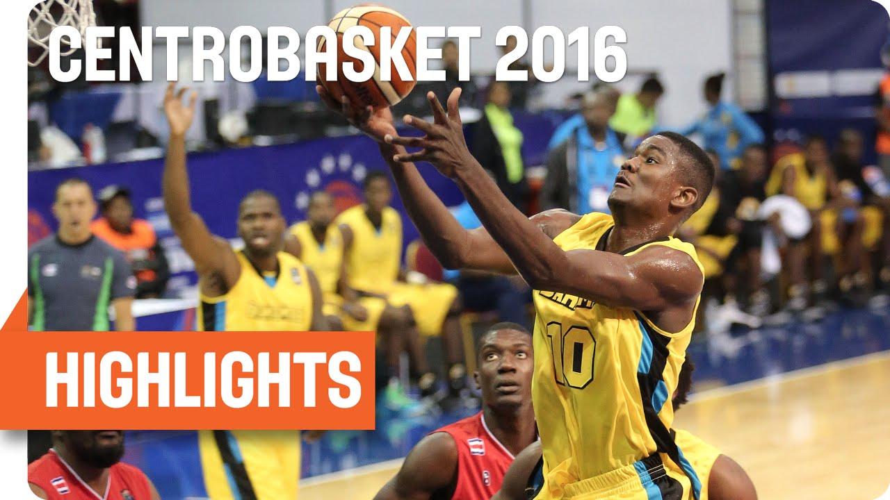 Bahamas (BAH) v Costa Rica (CRC) Game Highlights - Group B - 2016 FIBA Centrobasket Championship